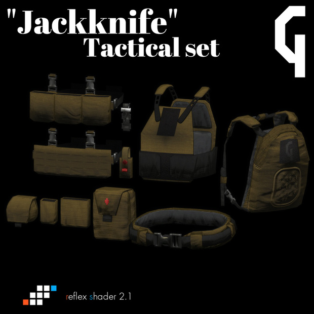 """Jackkife"" Tactical Set"