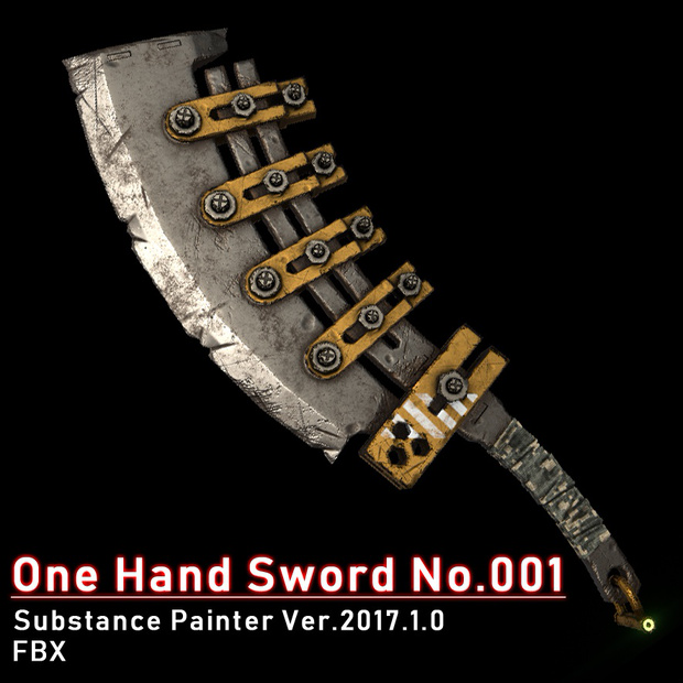 One Hand Sword No.001